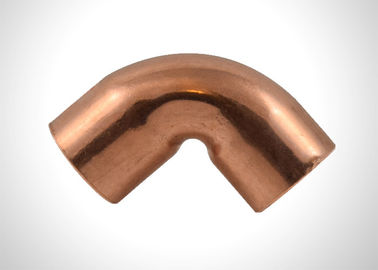 90 Degree Copper Elbow Easy Welding Refrigeration Pipe Fittings