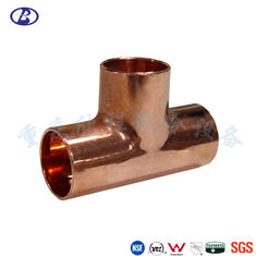Anti Corrosion Lead Free 3/8 Inch Refrigeration Pipe Fittings